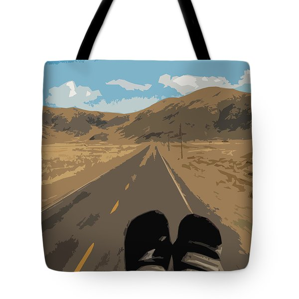 Enjoying The View Of The Peruvian Countryside Tote Bag