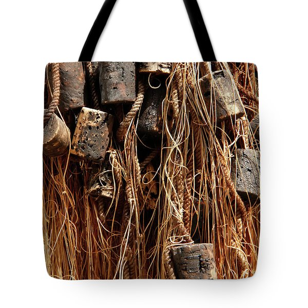 Tote Bag featuring the photograph Enkhuizen Fishing Nets by KG Thienemann