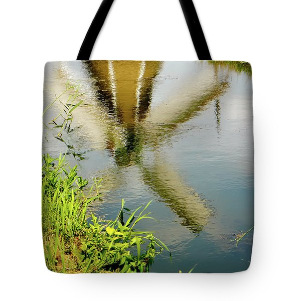 Tote Bag featuring the photograph Enkhuizen Windmill by KG Thienemann