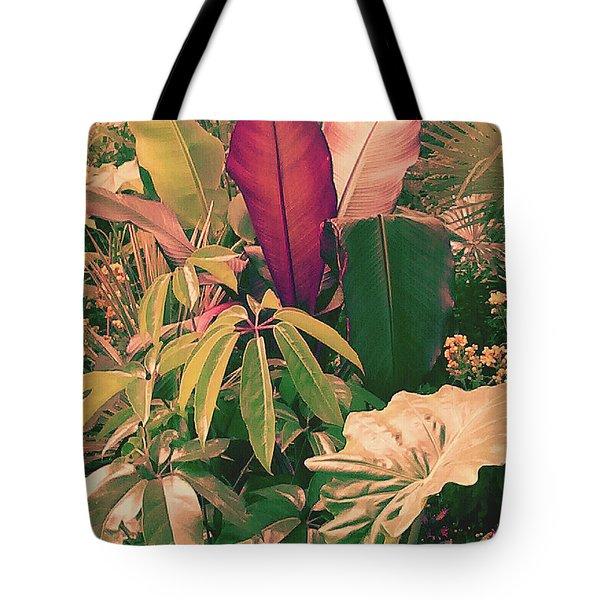Enlightened Jungle Tote Bag