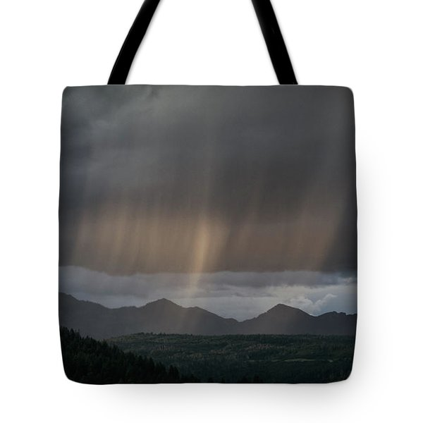 Enlightened Shafts Tote Bag