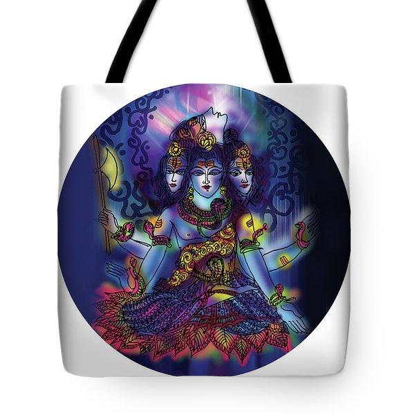 Enlightened Shiva Tote Bag