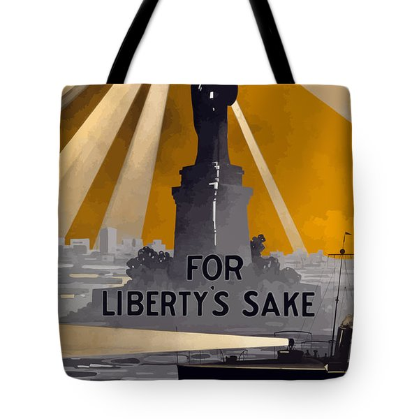 Enlist In The Navy - For Liberty's Sake Tote Bag