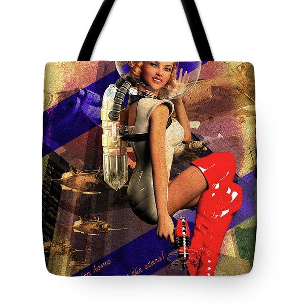 Enlist Today Tote Bag