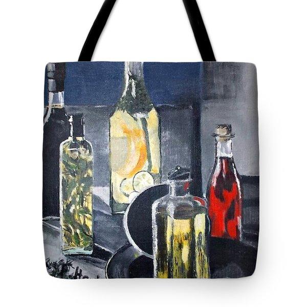 Enliven Salads Tote Bag by Francine Heykoop