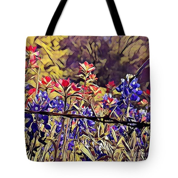 Ennis Bluebonnents Tote Bag