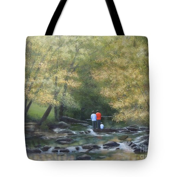 Eno River Afternoon Tote Bag
