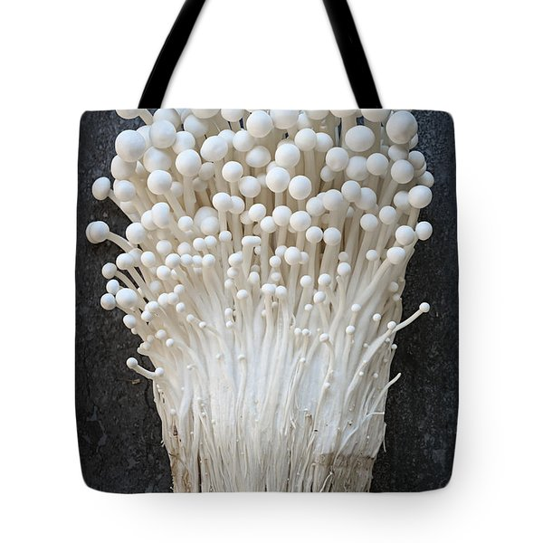 Enoki Mushrooms Tote Bag