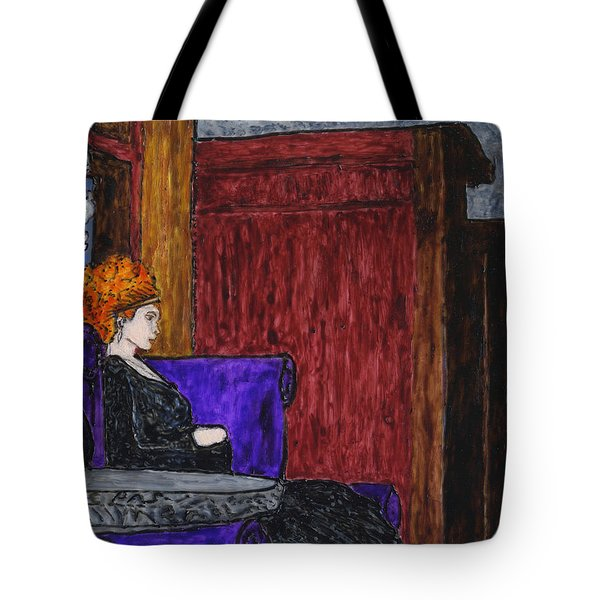 Enola At Home Tote Bag