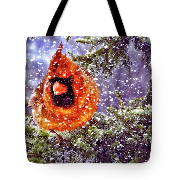 Tote Bag featuring the photograph Enough Of This White Stuff by Diane Schuster