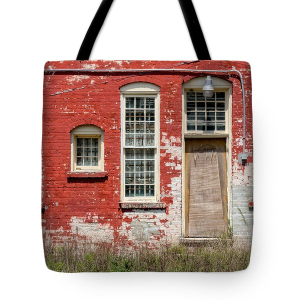 Tote Bag featuring the photograph Enough Windows by Christopher Holmes