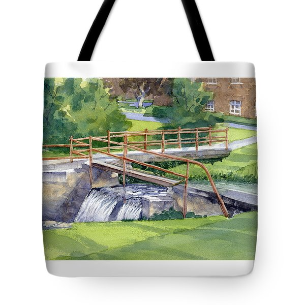 Ensign - Bickford Waterfall Tote Bag