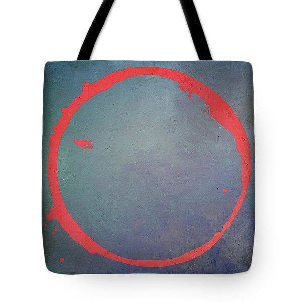 Tote Bag featuring the digital art Enso 2017-1 by Julie Niemela