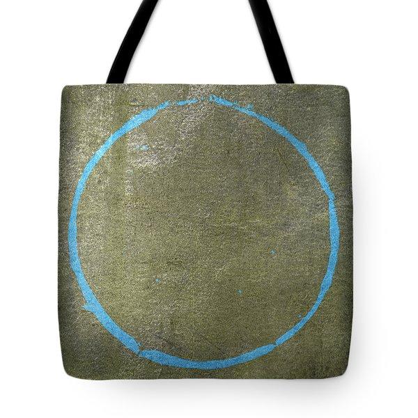 Tote Bag featuring the digital art Enso 2017-15 by Julie Niemela