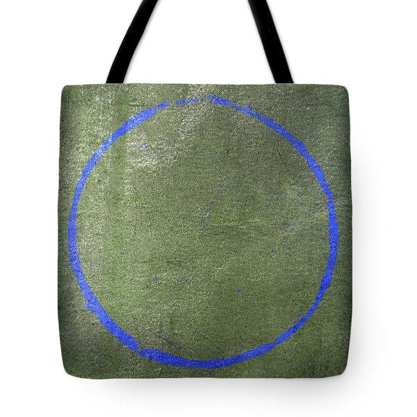 Tote Bag featuring the digital art Enso 2017-17 by Julie Niemela