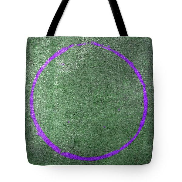Tote Bag featuring the digital art Enso 2017-19 by Julie Niemela