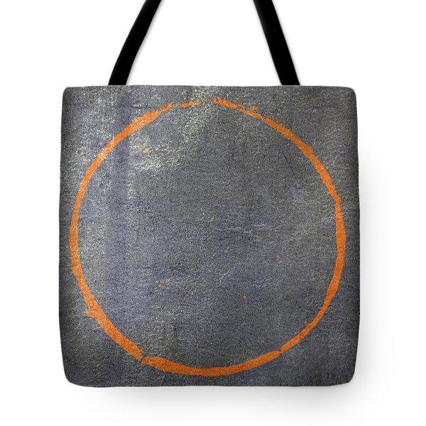 Tote Bag featuring the digital art Enso 2017-20 by Julie Niemela