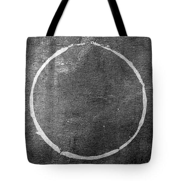 Tote Bag featuring the digital art Enso 2017-22 by Julie Niemela