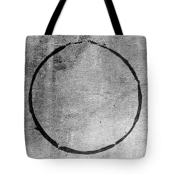 Tote Bag featuring the digital art Enso 2017-24 by Julie Niemela