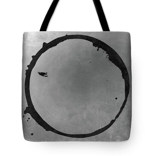 Tote Bag featuring the digital art Enso 2017-26 by Julie Niemela