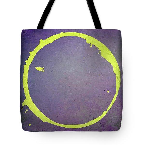 Tote Bag featuring the digital art Enso 2017-5 by Julie Niemela