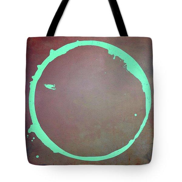 Tote Bag featuring the digital art Enso 2017-6 by Julie Niemela