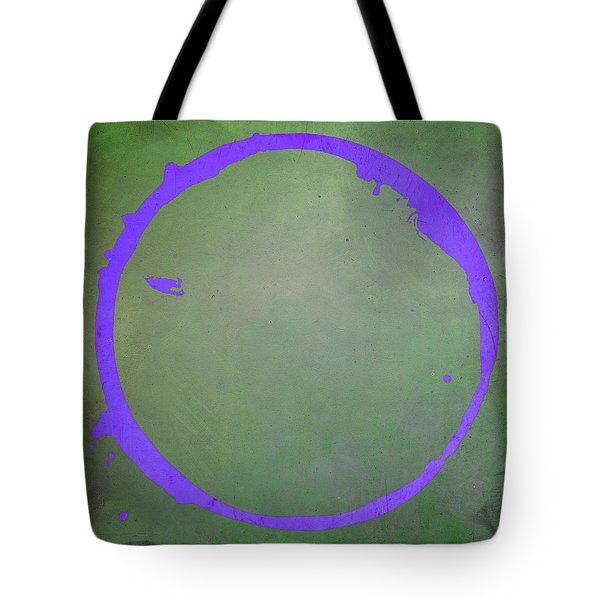 Tote Bag featuring the digital art Enso 2017-7 by Julie Niemela