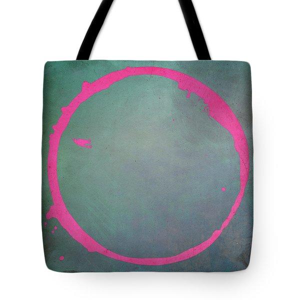 Tote Bag featuring the digital art Enso 2017-8 by Julie Niemela