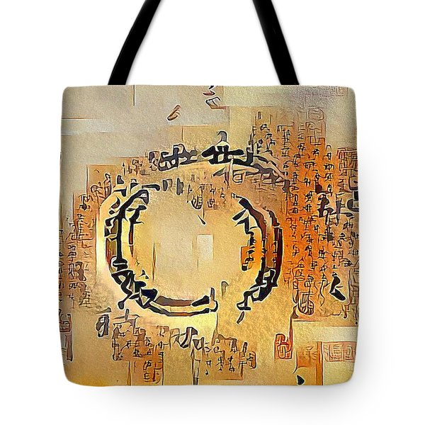 Enso Calligraphy  Tote Bag