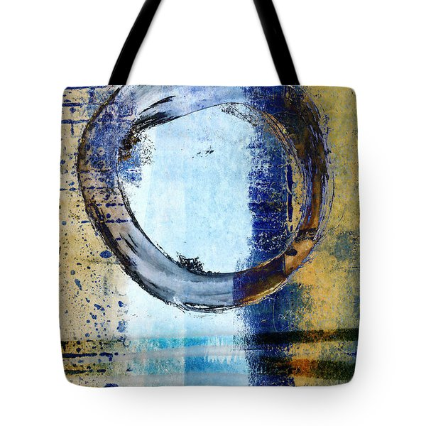 Enso Circle In Glass Tote Bag