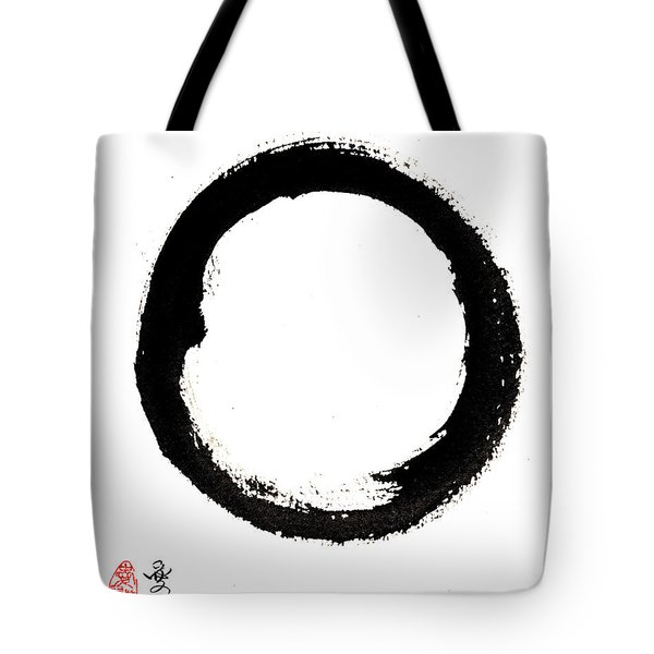 Enso Enlightenment Tote Bag