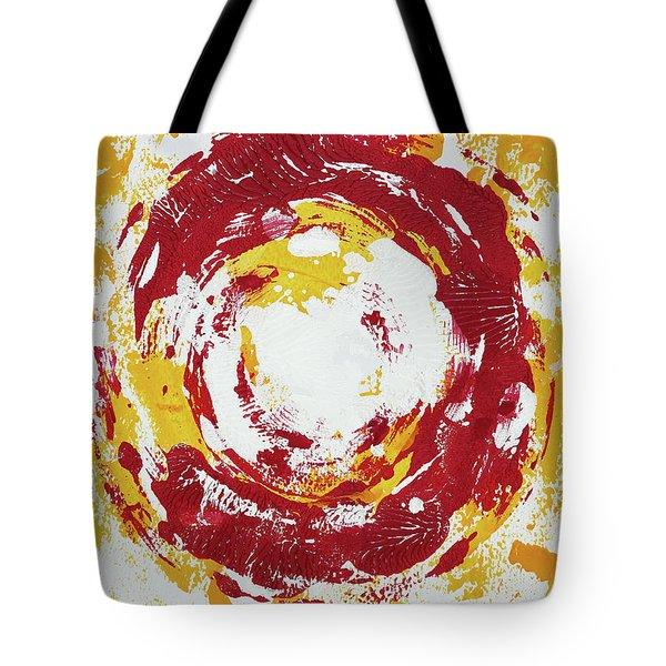 Enso Of Poppy Tote Bag