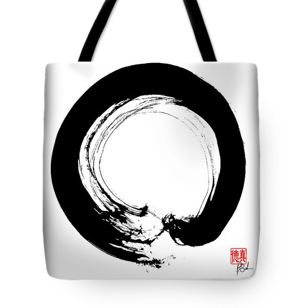 Enso / Zen Circle 10 Tote Bag