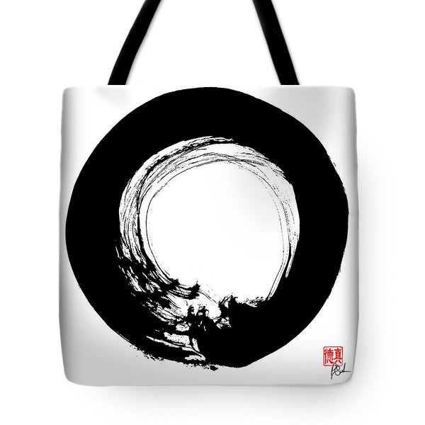 Enso / Zen Circle 14 Tote Bag