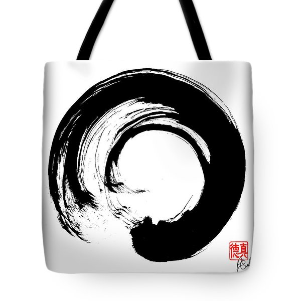Enso / Zen Circle 16 Tote Bag