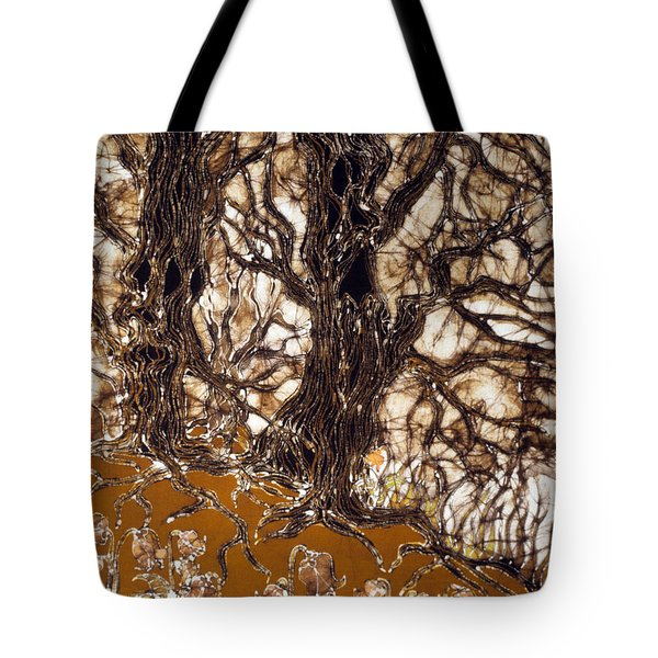 Ent Tree Forest Tote Bag by Carol Law Conklin