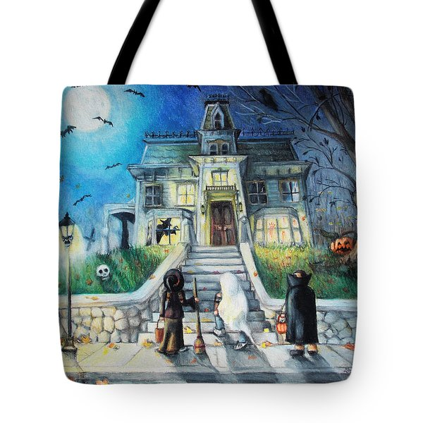 Enter If You Dare Tote Bag