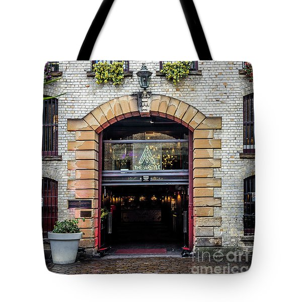 Tote Bag featuring the photograph Enter by Perry Webster