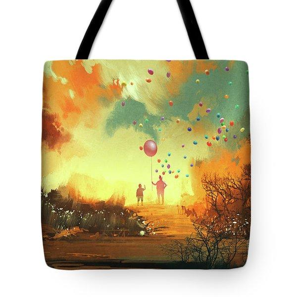 Enter The Fantasy Land Tote Bag