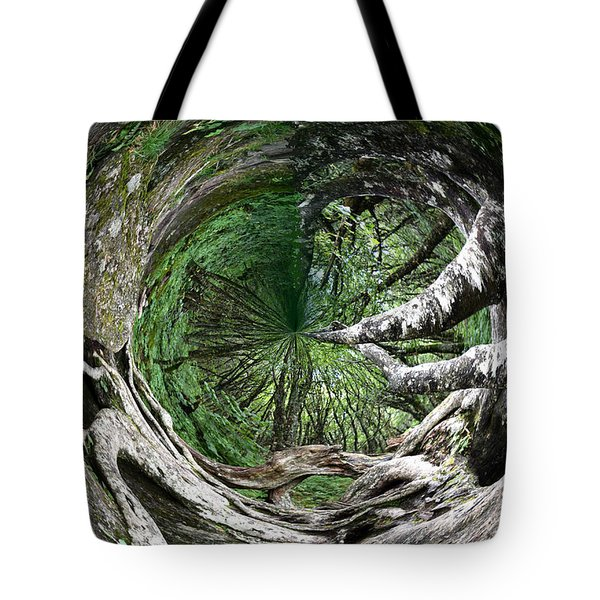Enter The Root Cellar Tote Bag by Gary Smith