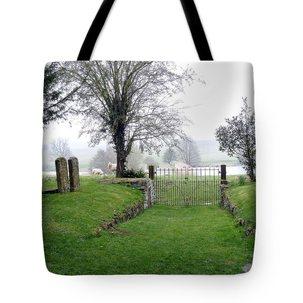 Enter Through The Gates With Singing Tote Bag