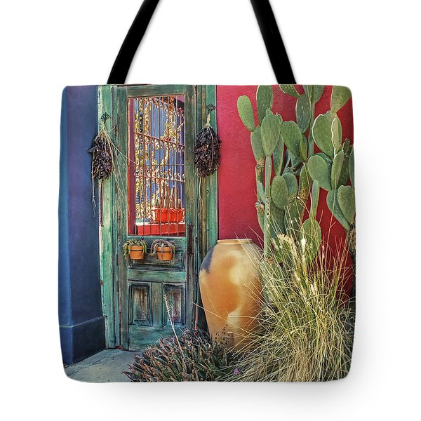 Enter - You Are Always Welcome Tote Bag