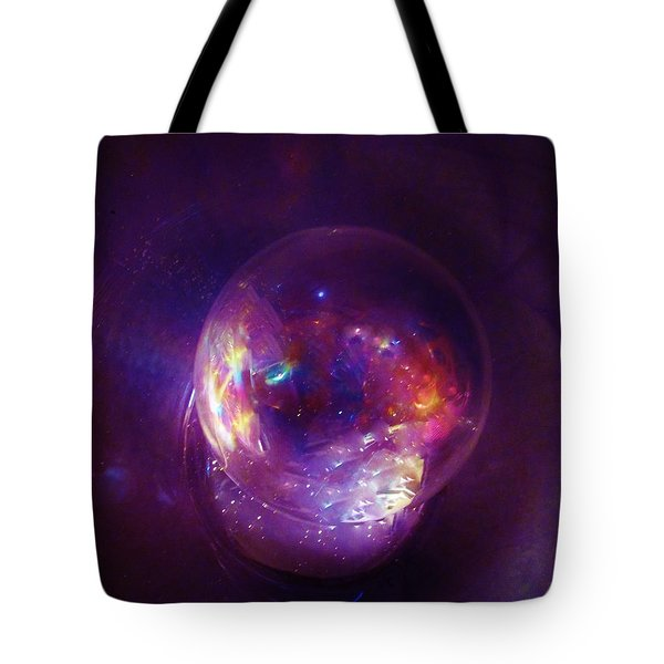 Entering A Wormhole  Tote Bag