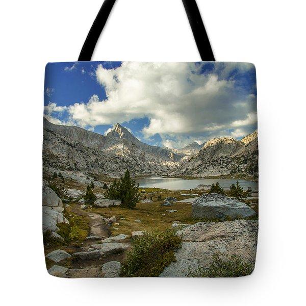 Entering Evolution Basin Tote Bag