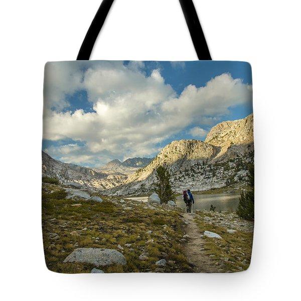 Entering Evolution Paradise Tote Bag