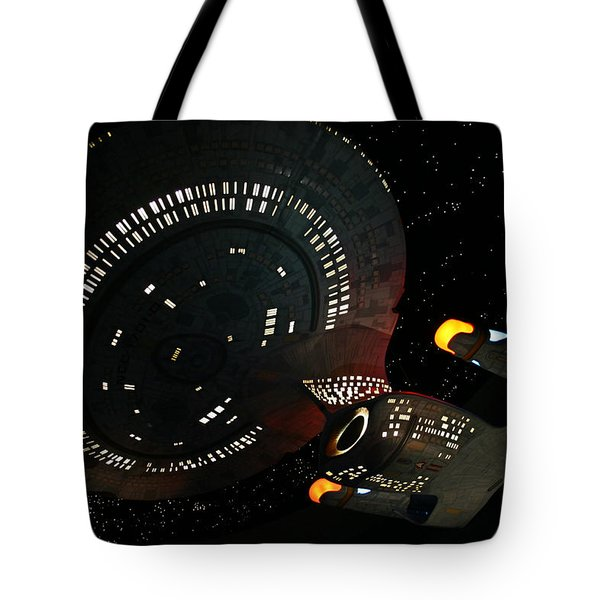 Tote Bag featuring the photograph Enterprise by Kristin Elmquist