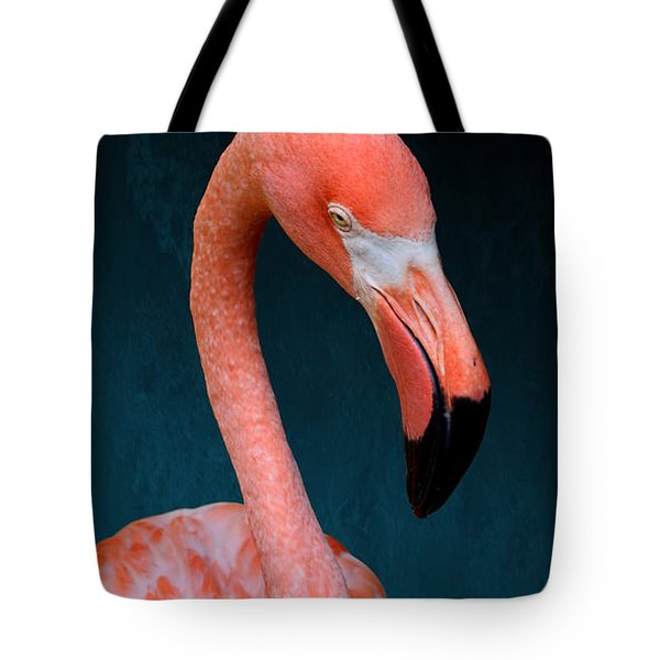 Entirely Unimpressed Flamingo Tote Bag
