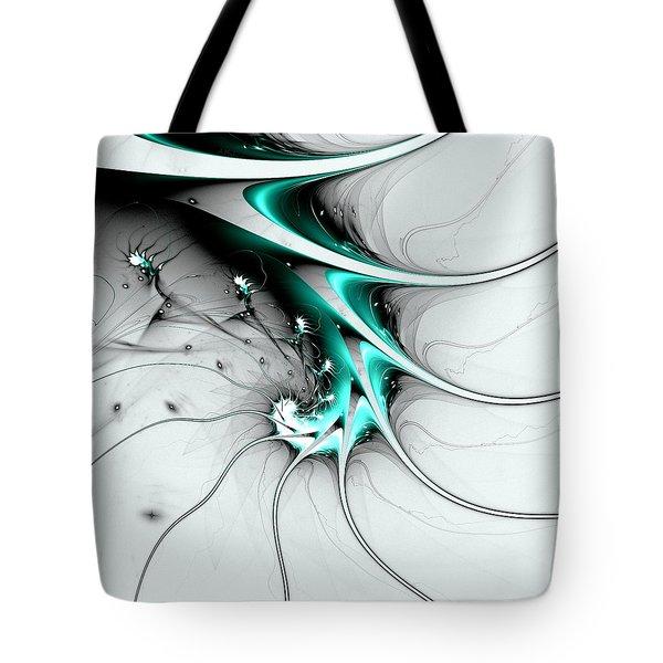 Tote Bag featuring the digital art Entity by Anastasiya Malakhova