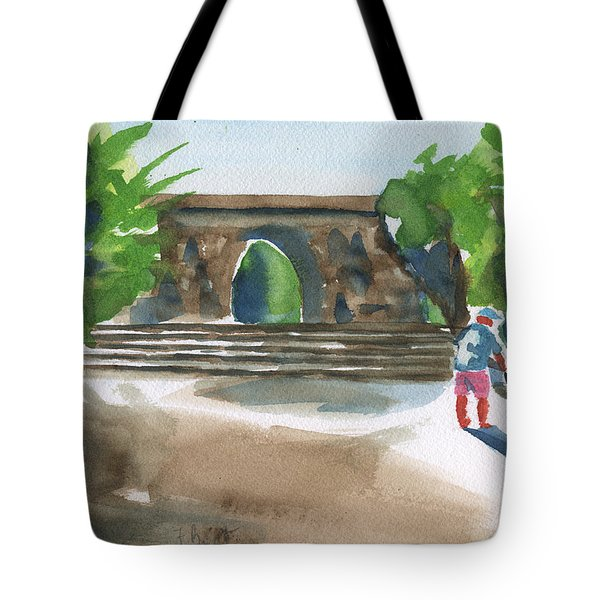 Entrance At Chankanaab Tote Bag