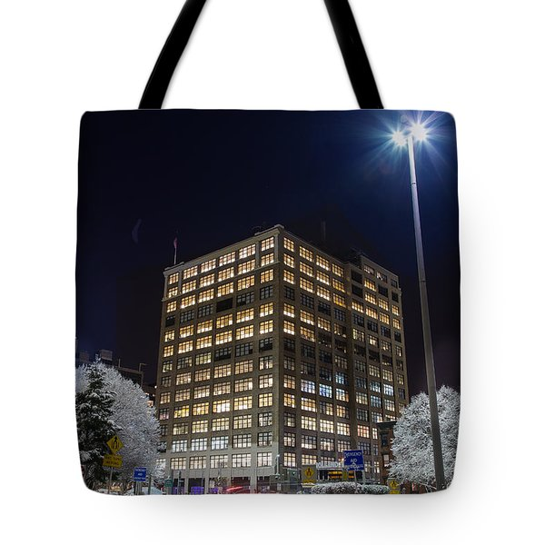 Entrance, Holland Tunnel Tote Bag